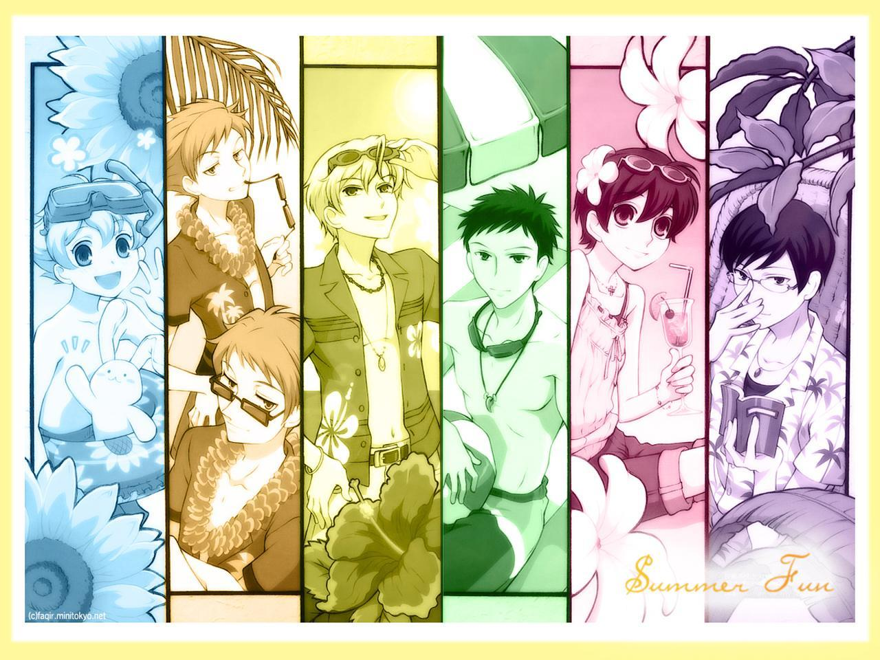 ouran high school host HD Wallpaper