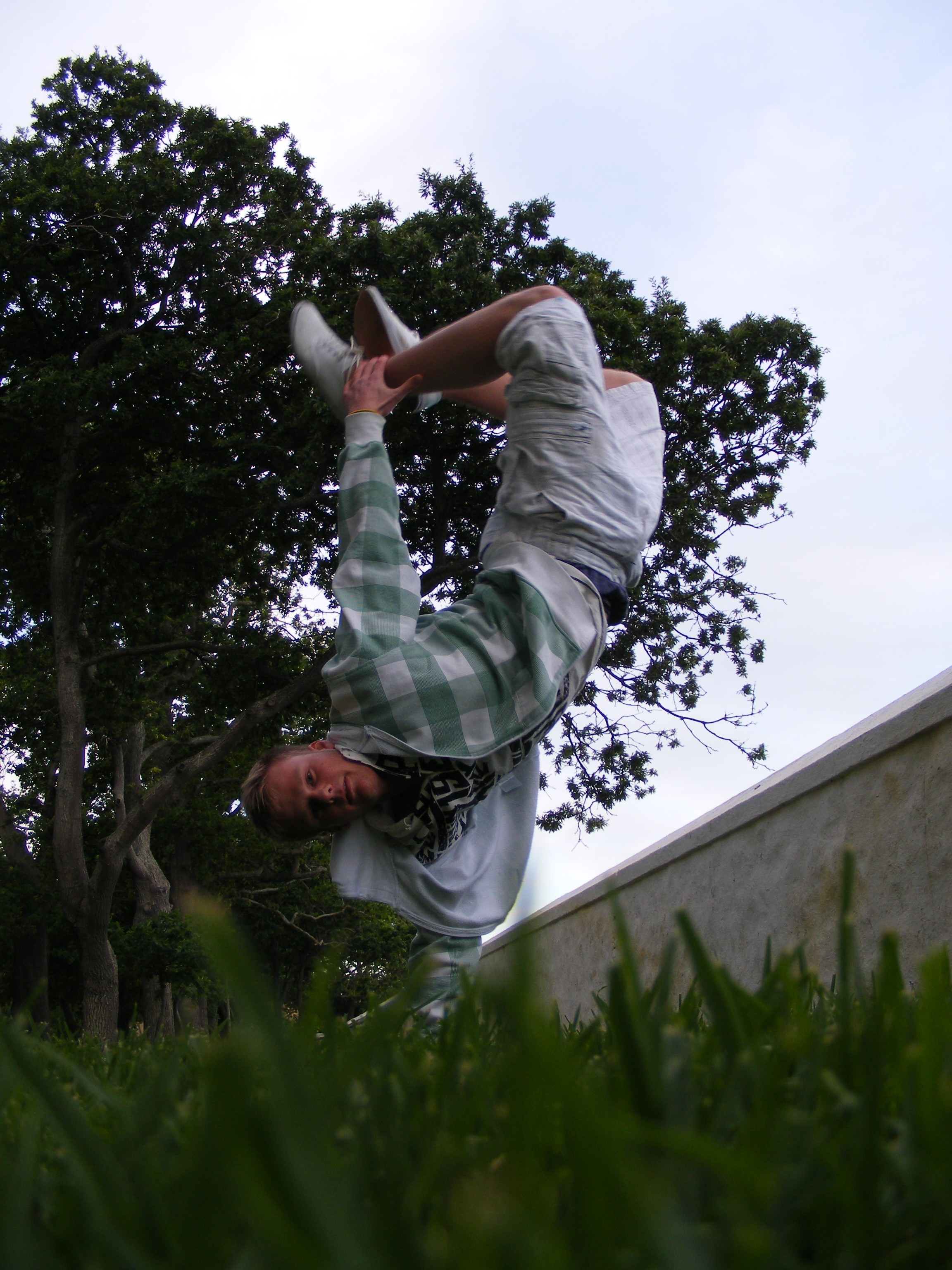 outdoors parkour HD Wallpaper