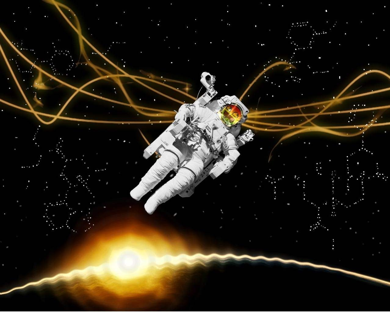outer Space drugs astronauts HD Wallpaper