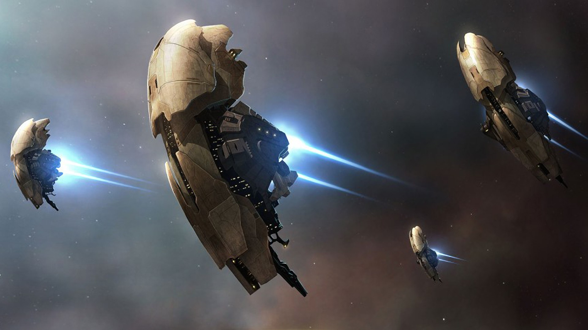 outer space eve online HD Wallpaper