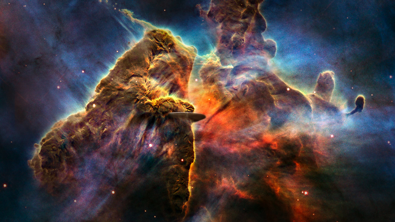 outer Space nebulae gas HD Wallpaper