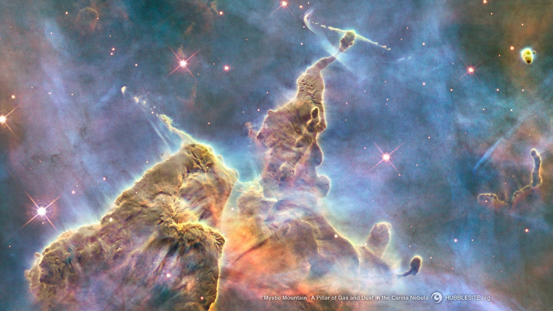 outer space nebulae Hubble HD Wallpaper