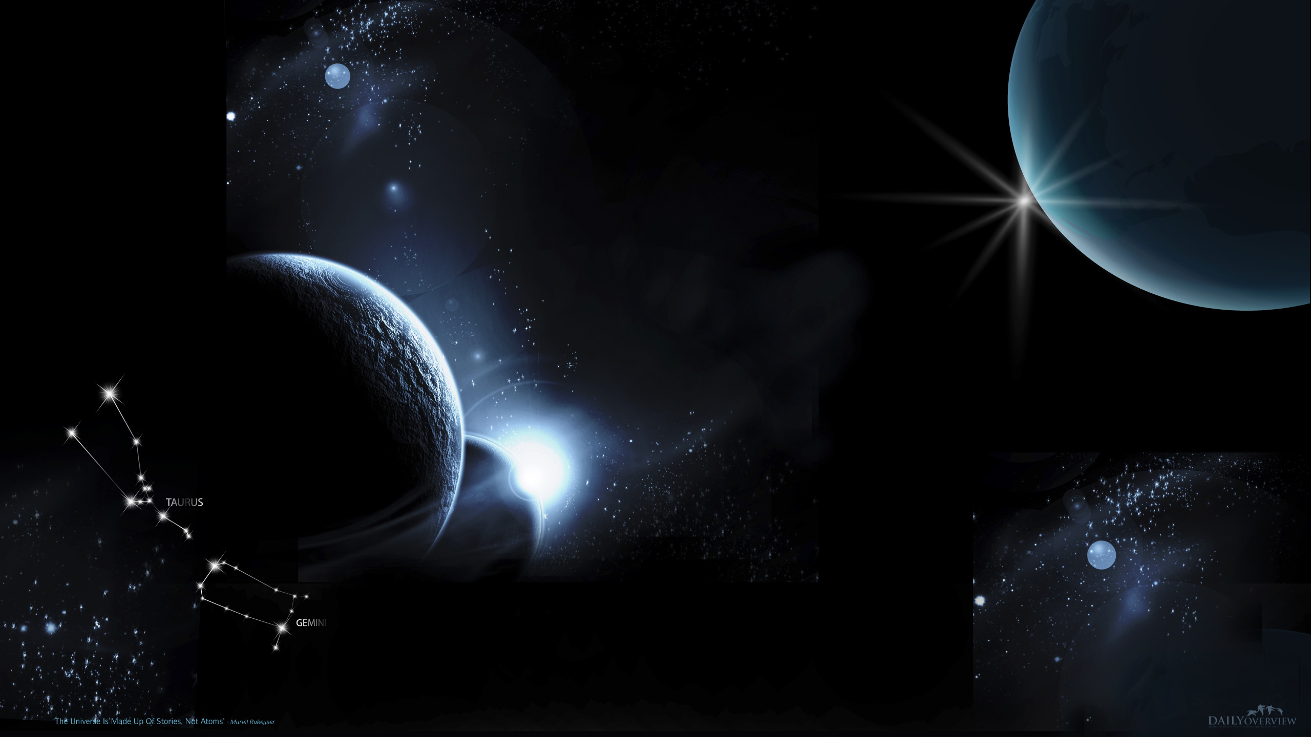 outer space planets HD Wallpaper