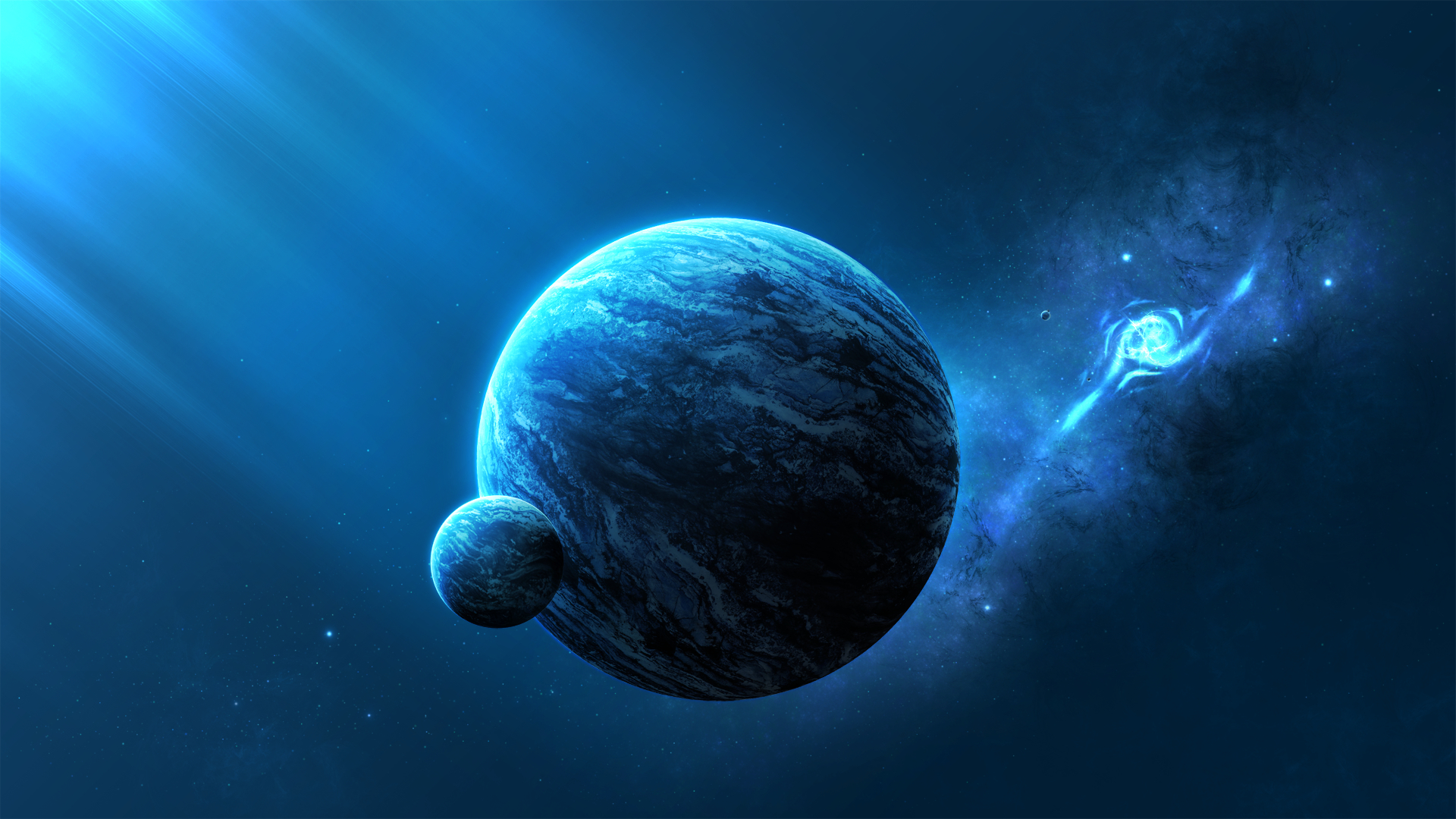 outer Space planets deviantart HD Wallpaper