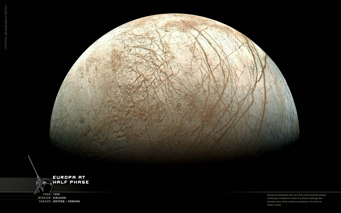 outer space planets Europa HD Wallpaper