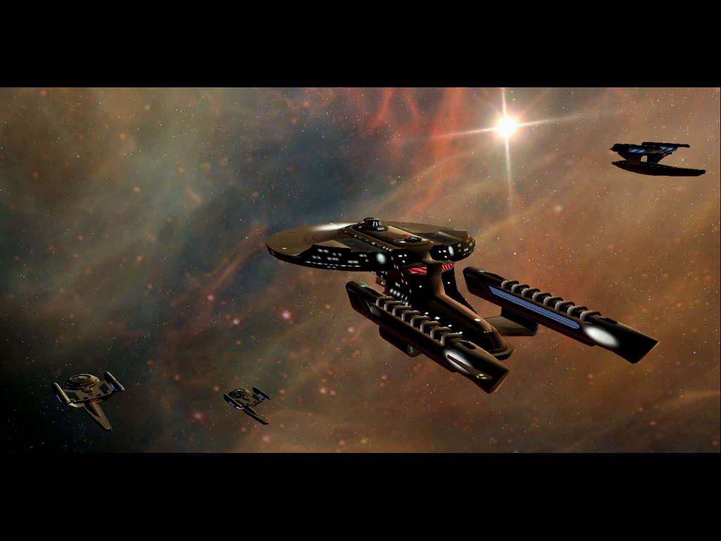 outer Space star Trek HD Wallpaper