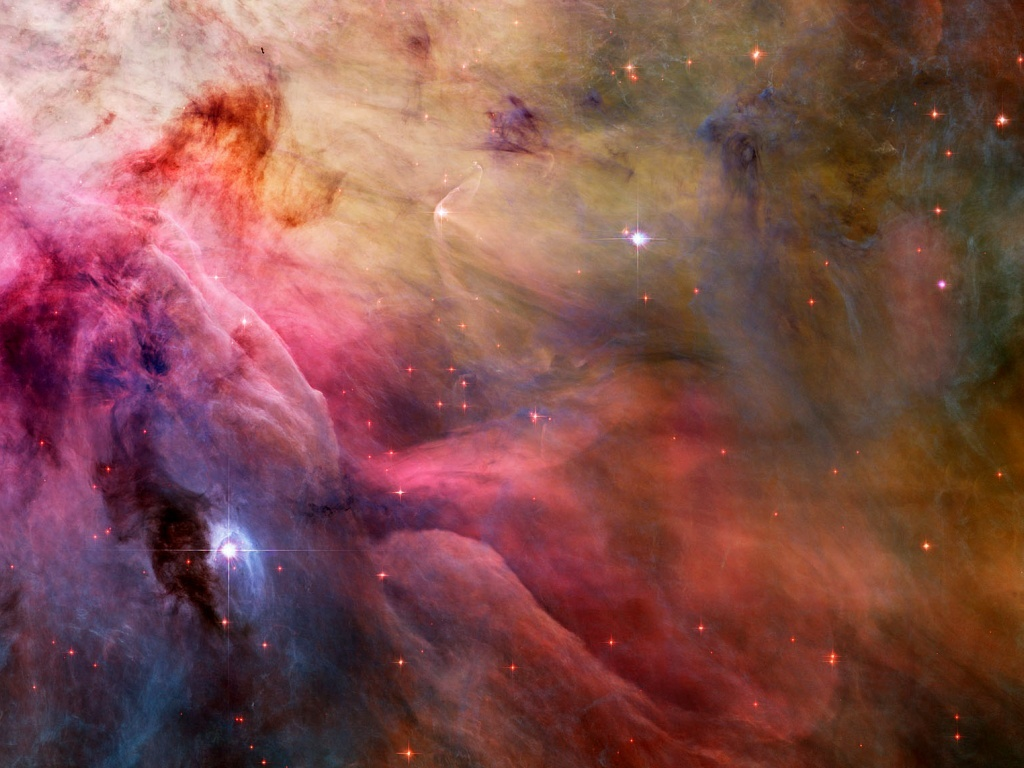 outer space Stars nebulae