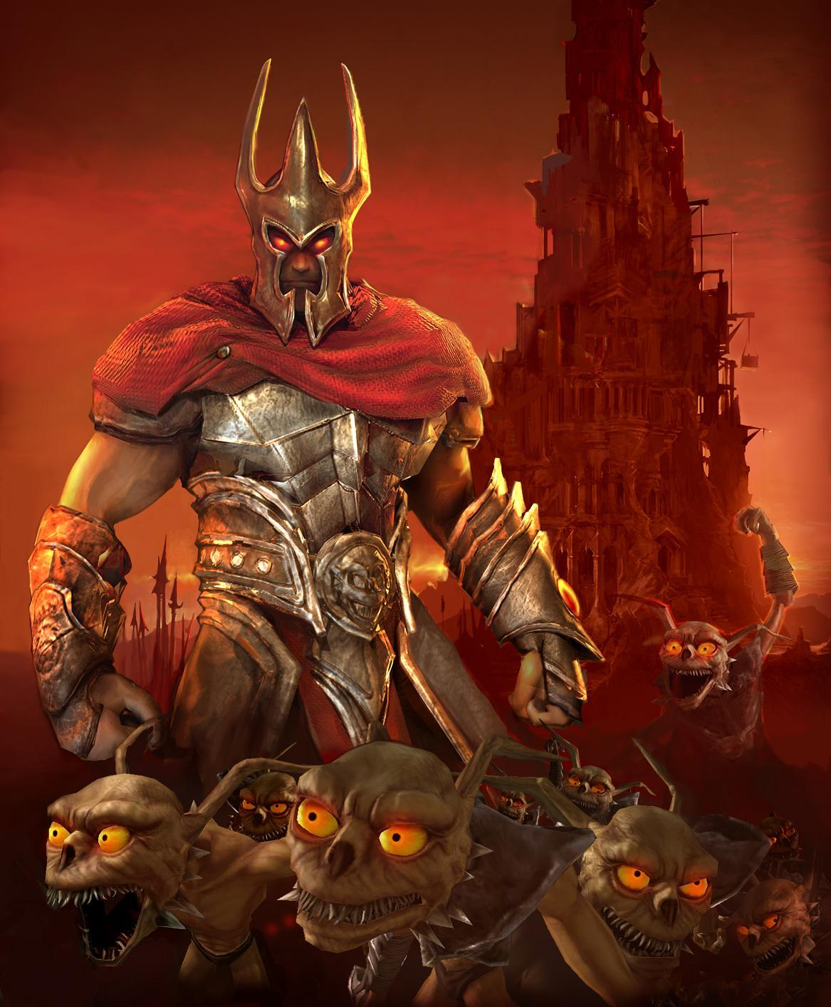 Overlord funny video Games HD Wallpaper