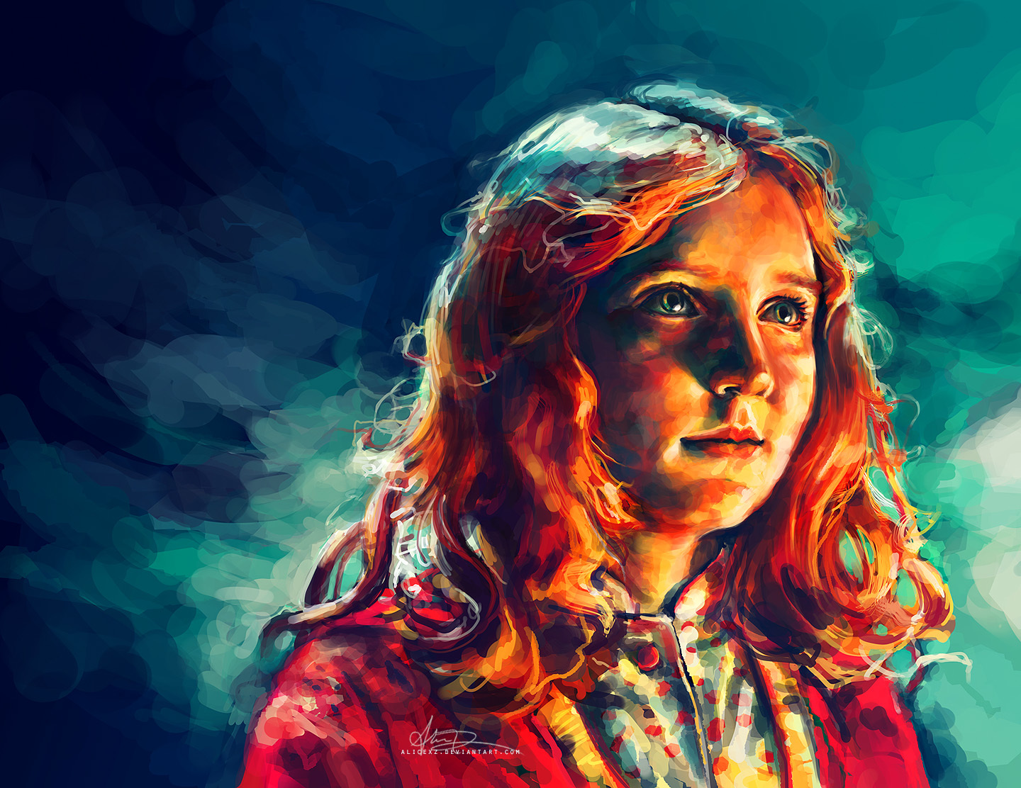 paintings Amy Pond Doctor HD Wallpaper