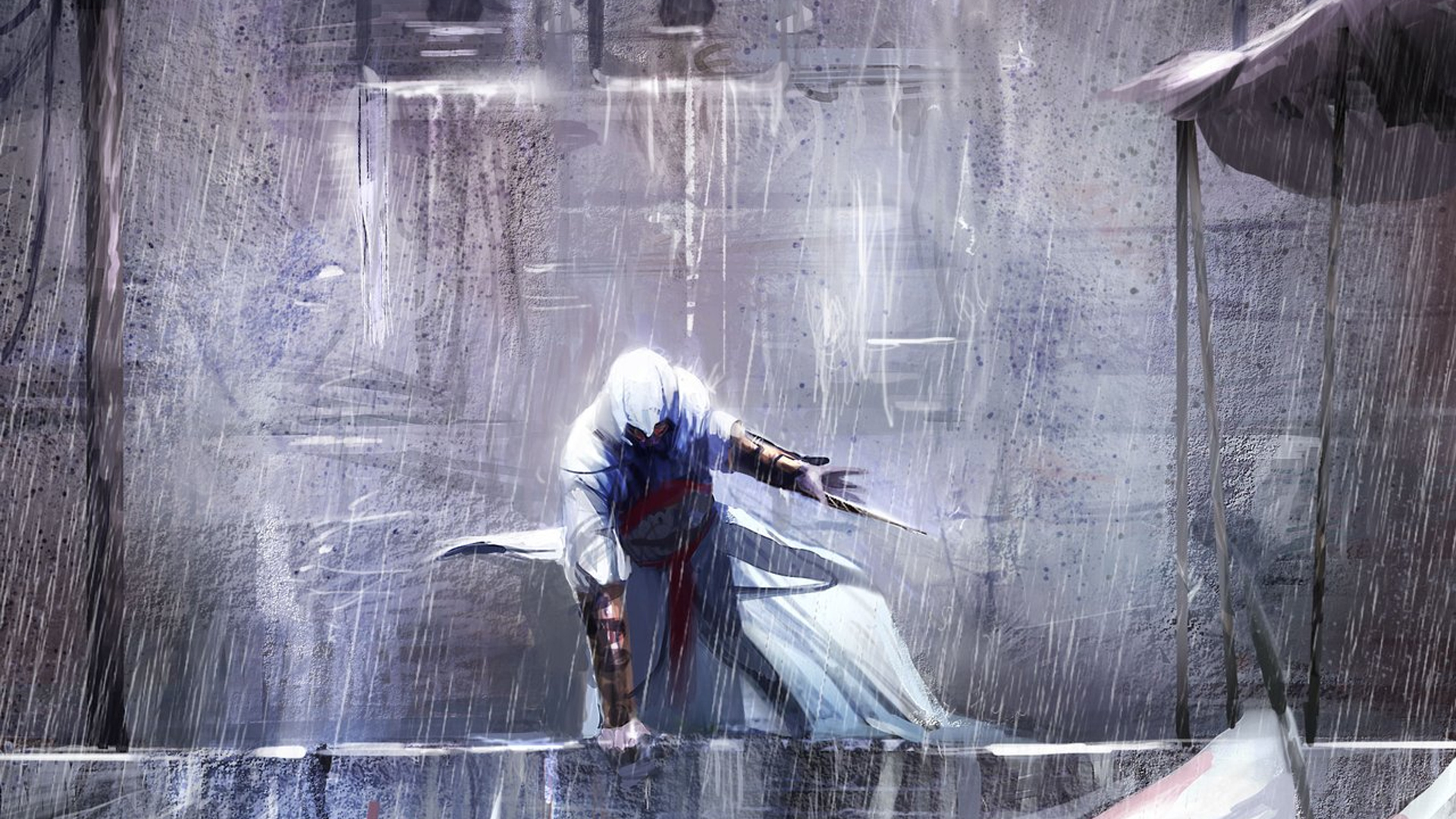 paintings Assassin assassins creed HD Wallpaper