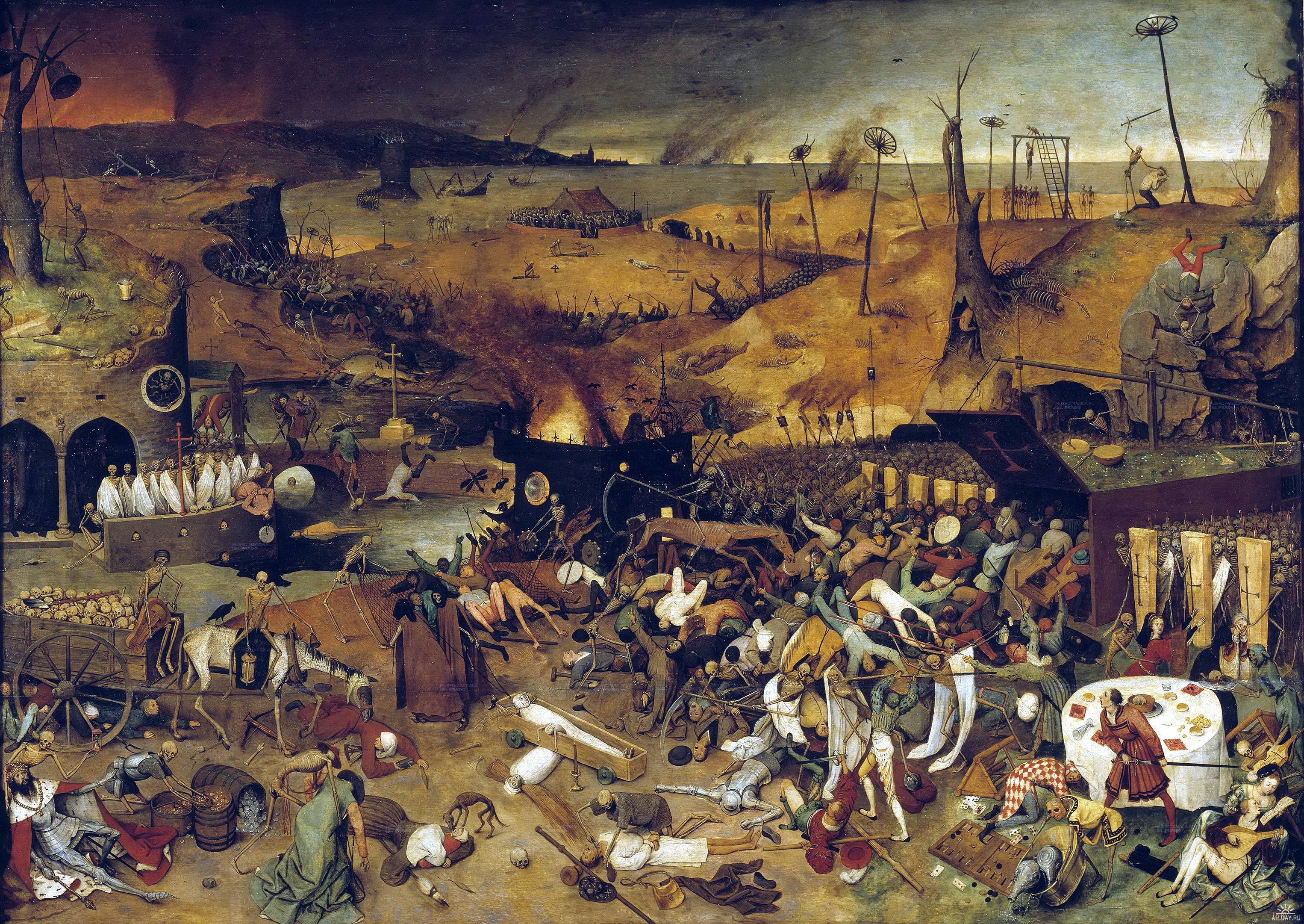 paintings death apocalypse hieronymus bosch classic painting art HD Wallpaper