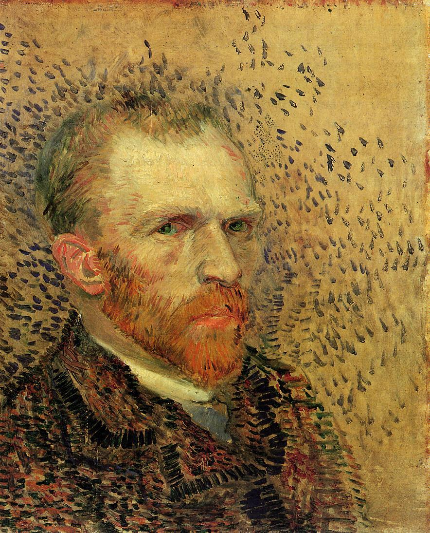 paintings green eyes Vincent HD Wallpaper