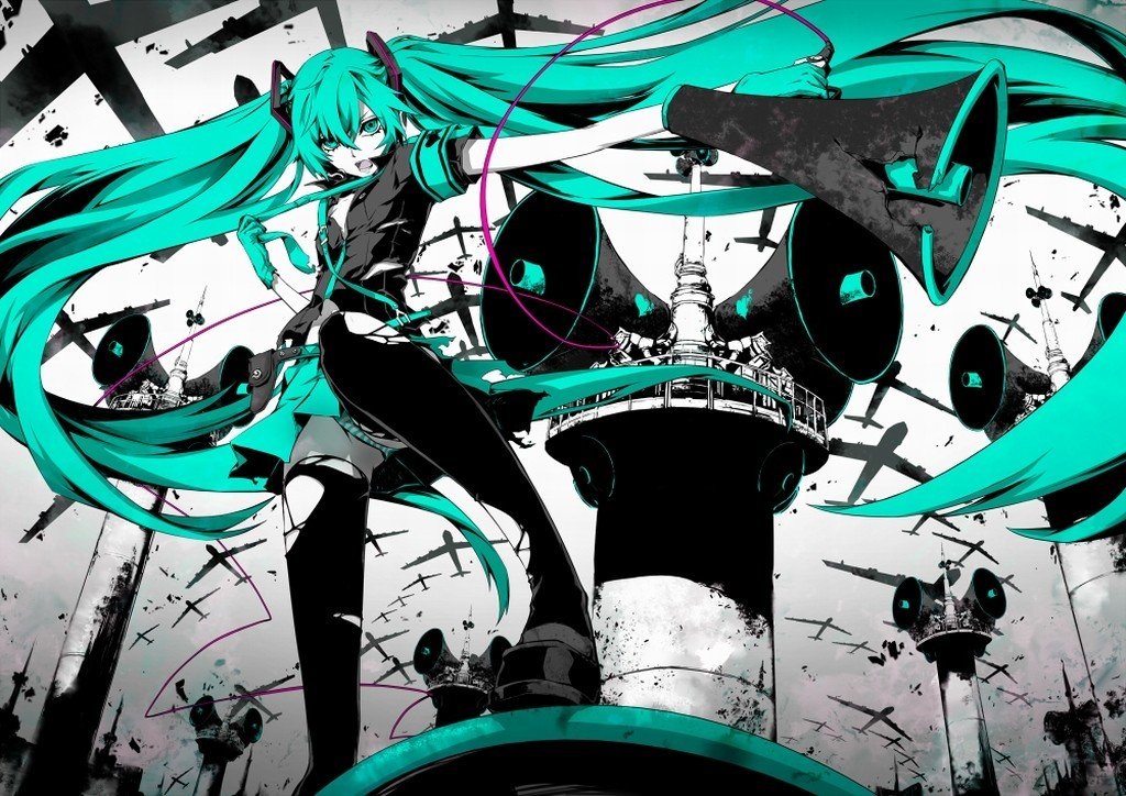 panties Aircraft War vocaloid HD Wallpaper