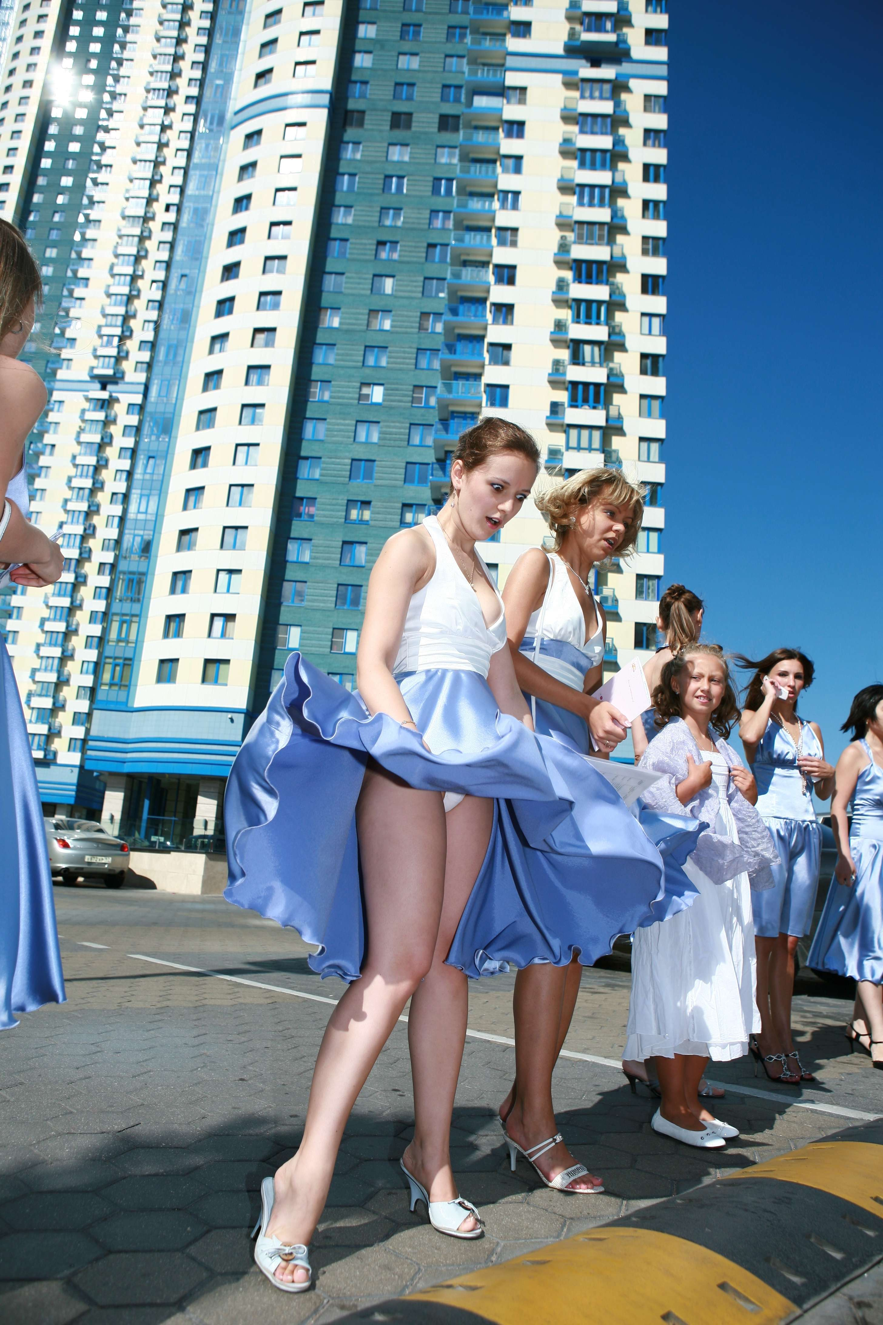 Panties schoolgirls upskirt