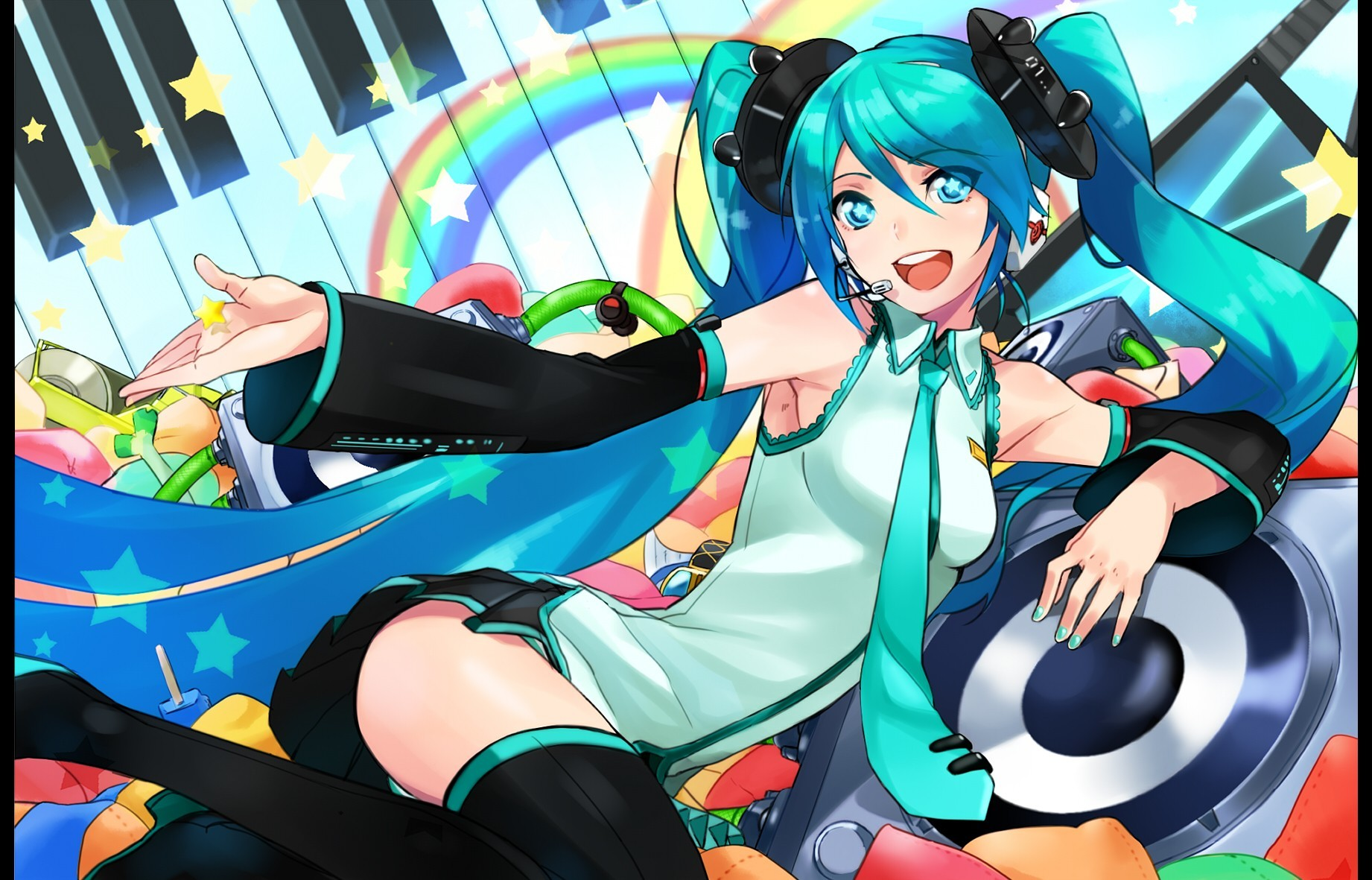 panties vocaloid Stars hatsune HD Wallpaper