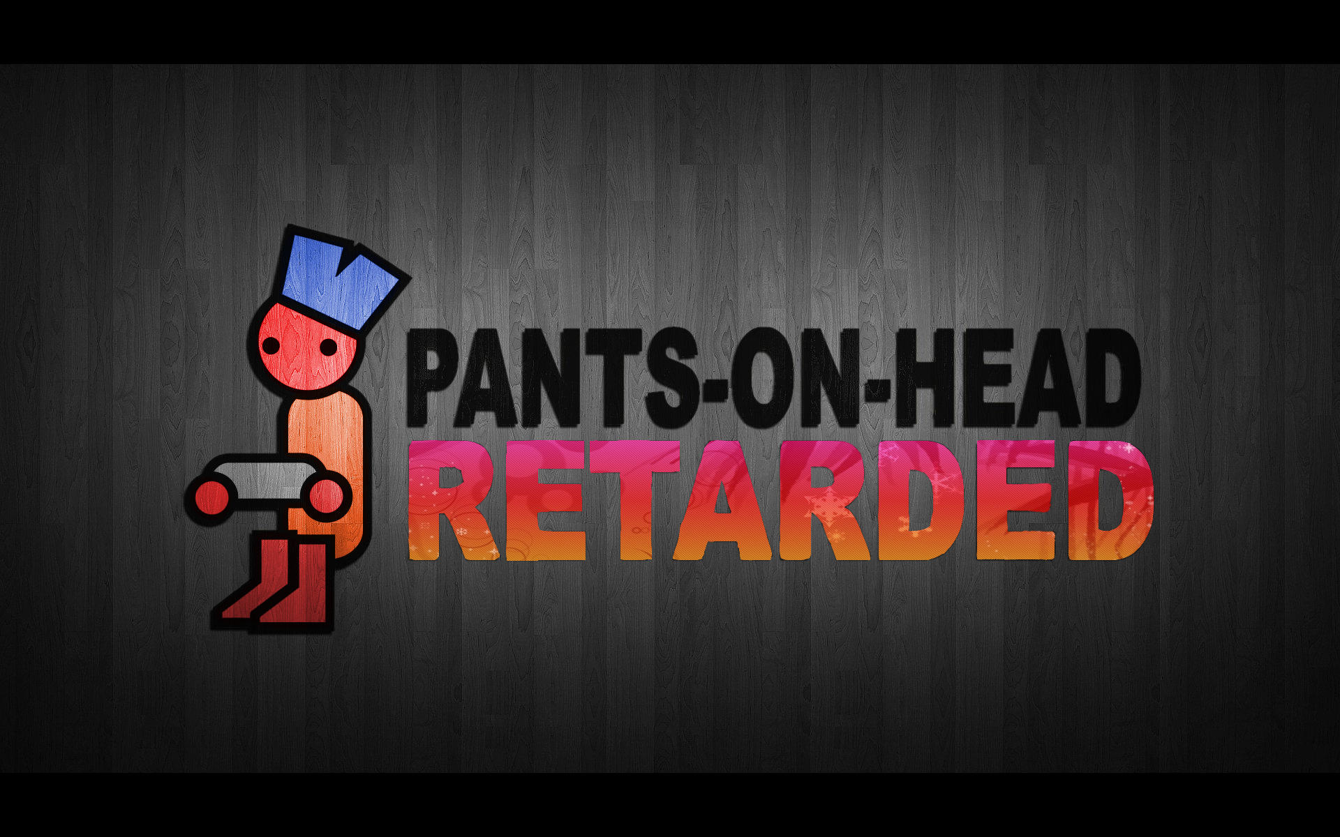 pants retarded head zero HD Wallpaper