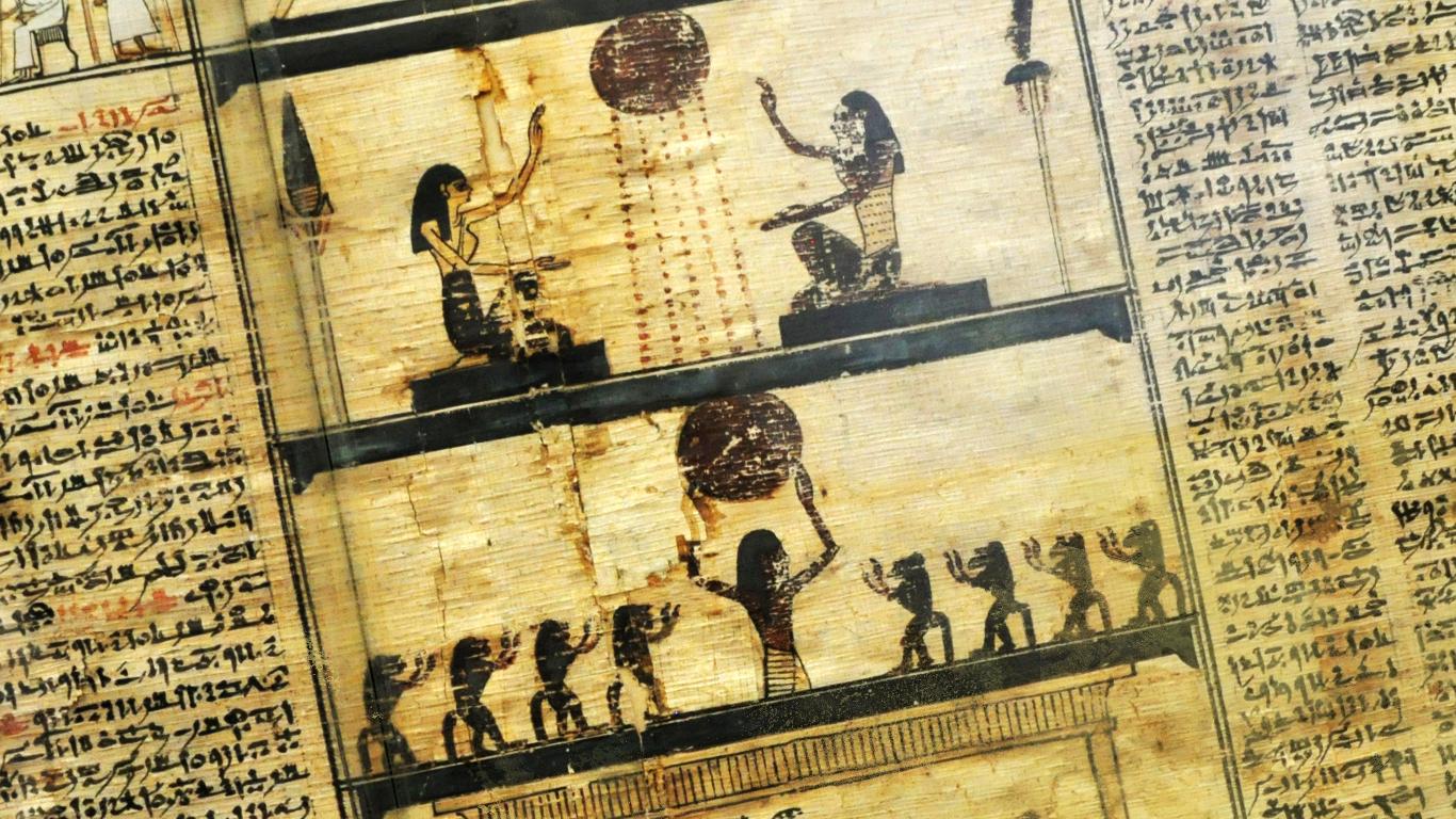 Paper Egypt Egyptian Hieroglyphs