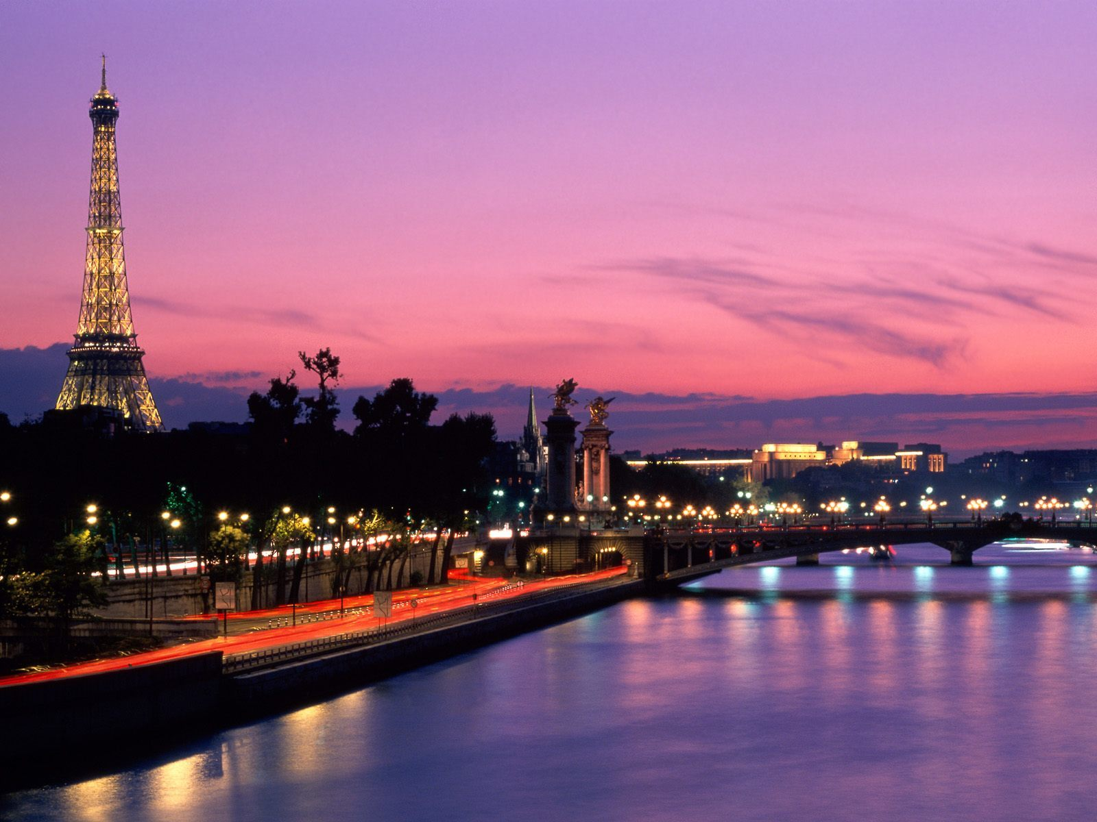 Paris City HD Wallpaper