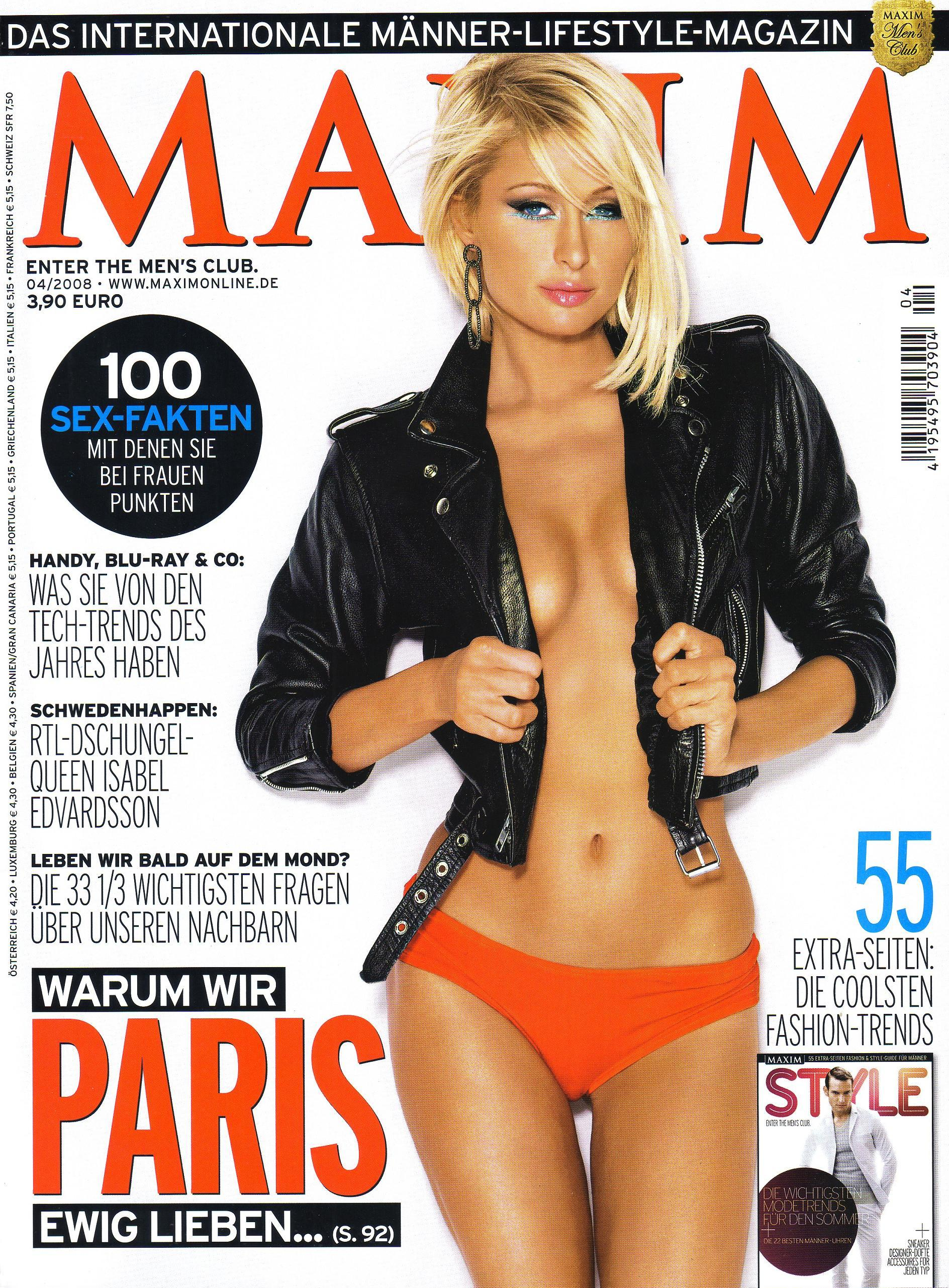 Paris hilton Maxim Magazine HD Wallpaper
