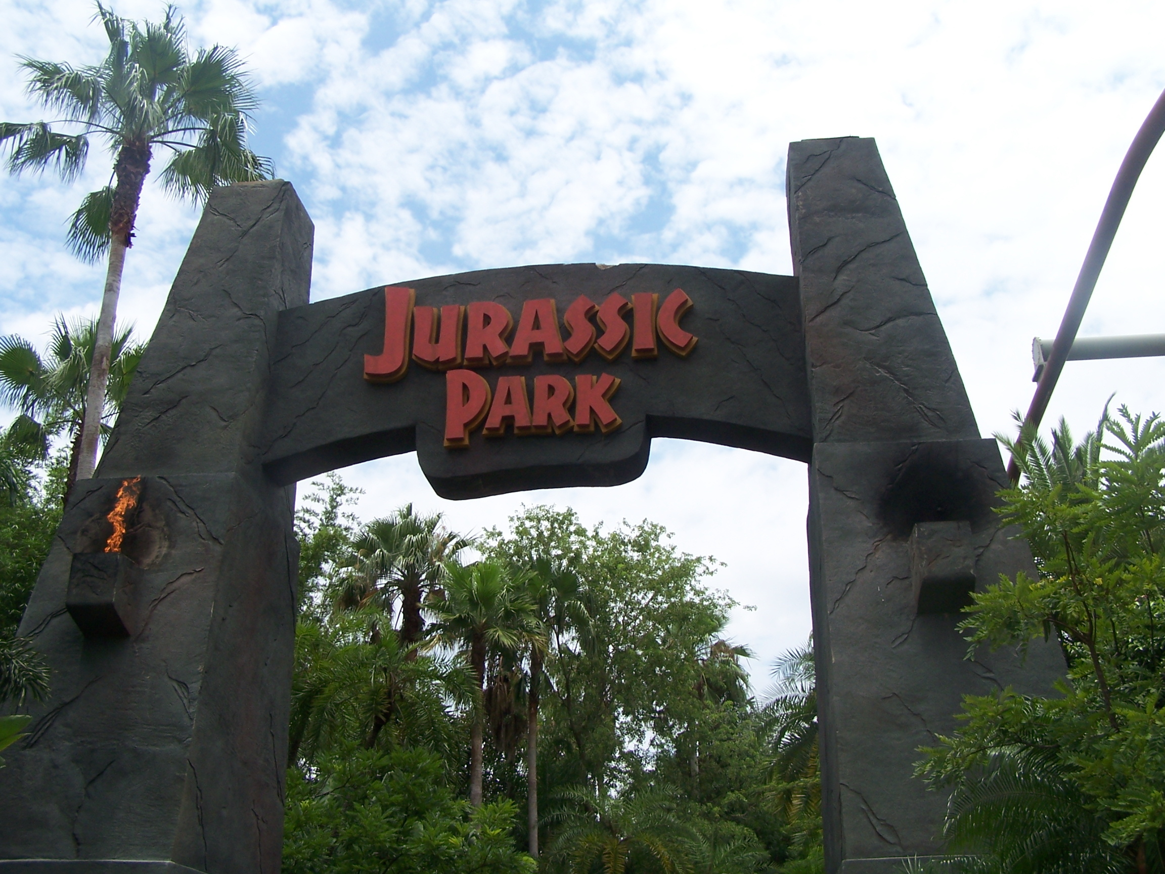 Park Jurassic HD Wallpaper