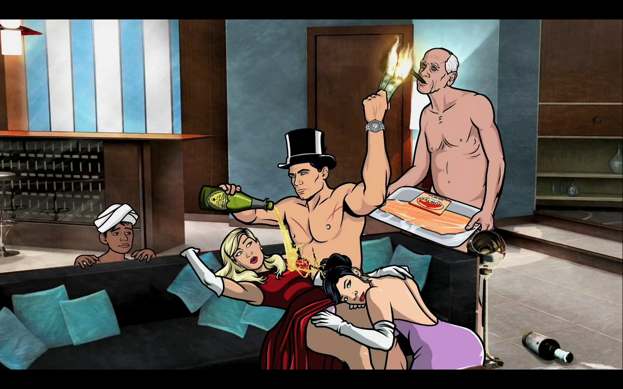 party screenshots Archer TV HD Wallpaper