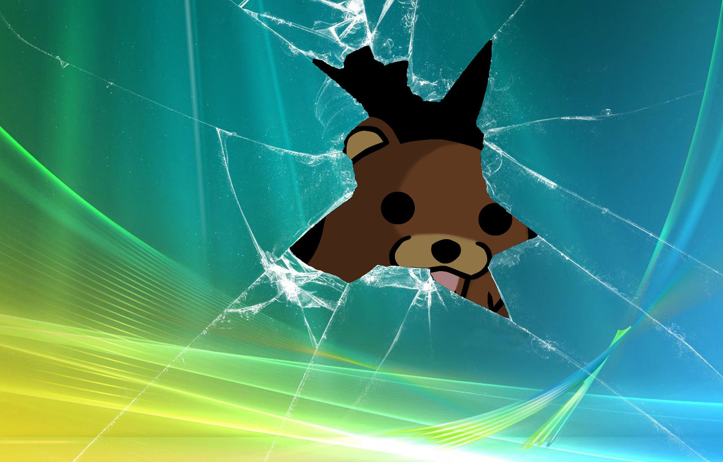 Pedobear fun HD Wallpaper