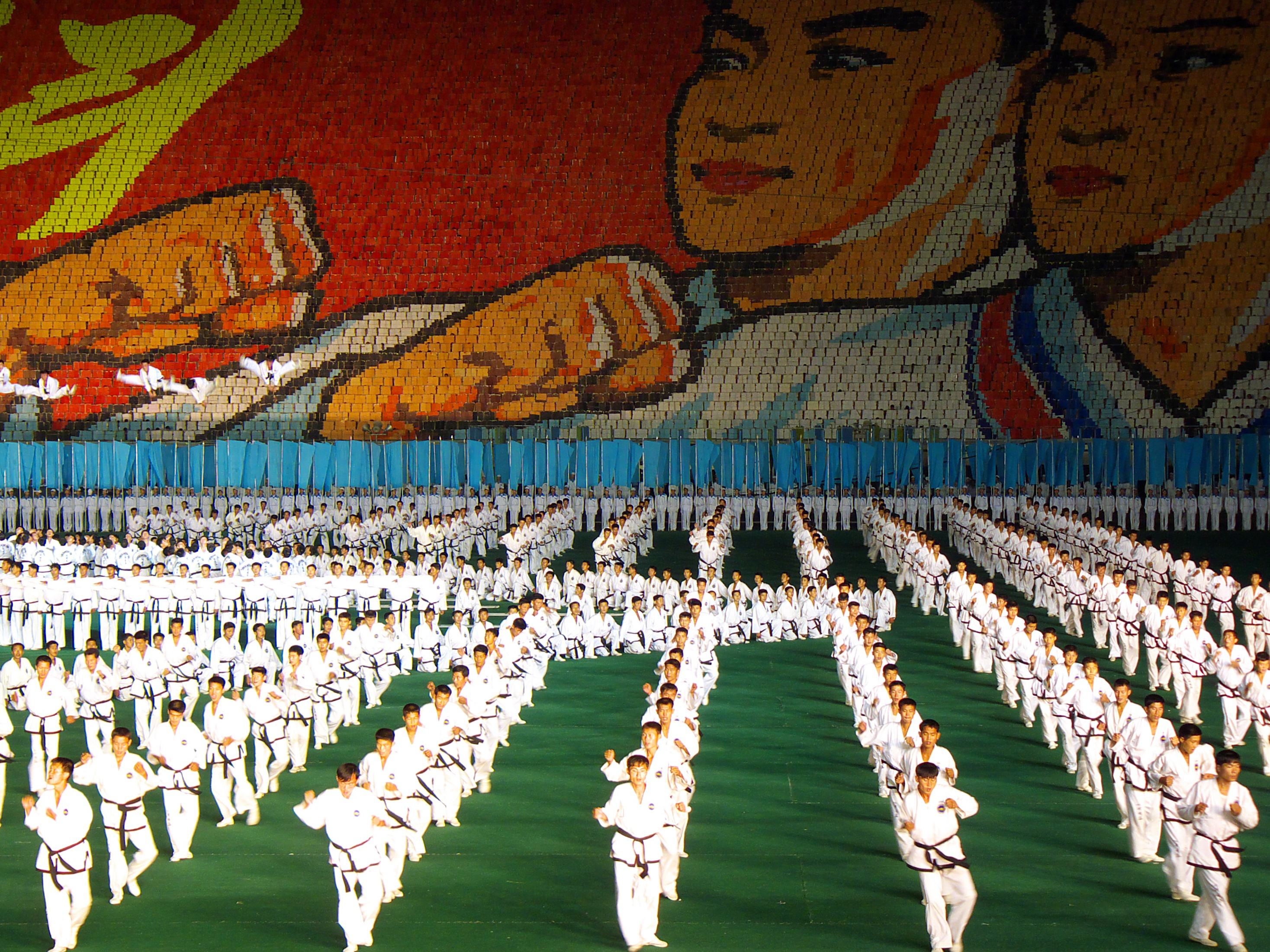 performance Pyongyang festival north HD Wallpaper