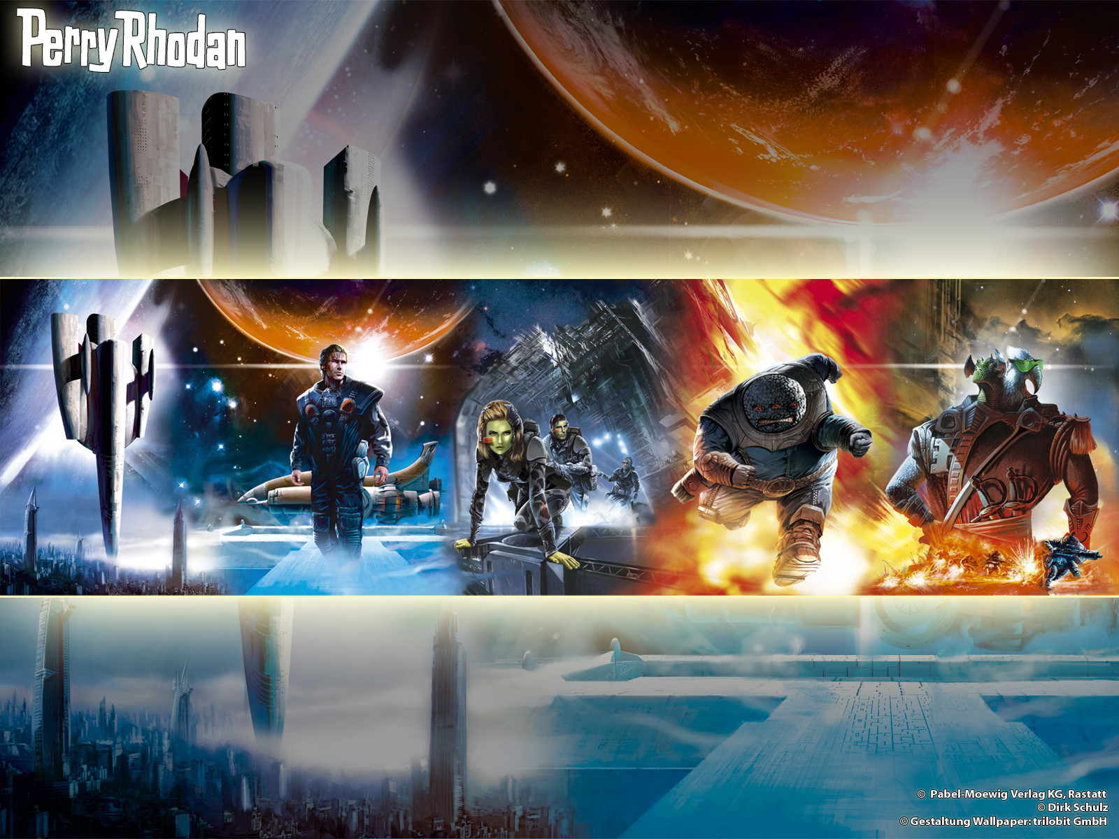 perry rhodan HD Wallpaper