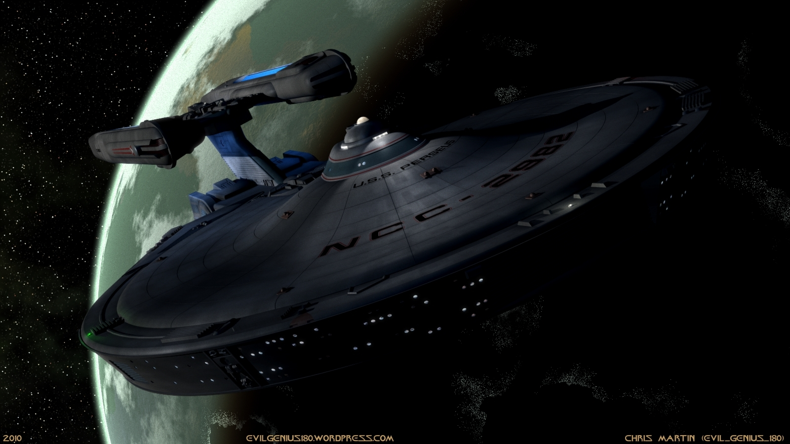 Perseus darkside uss pegasus HD Wallpaper