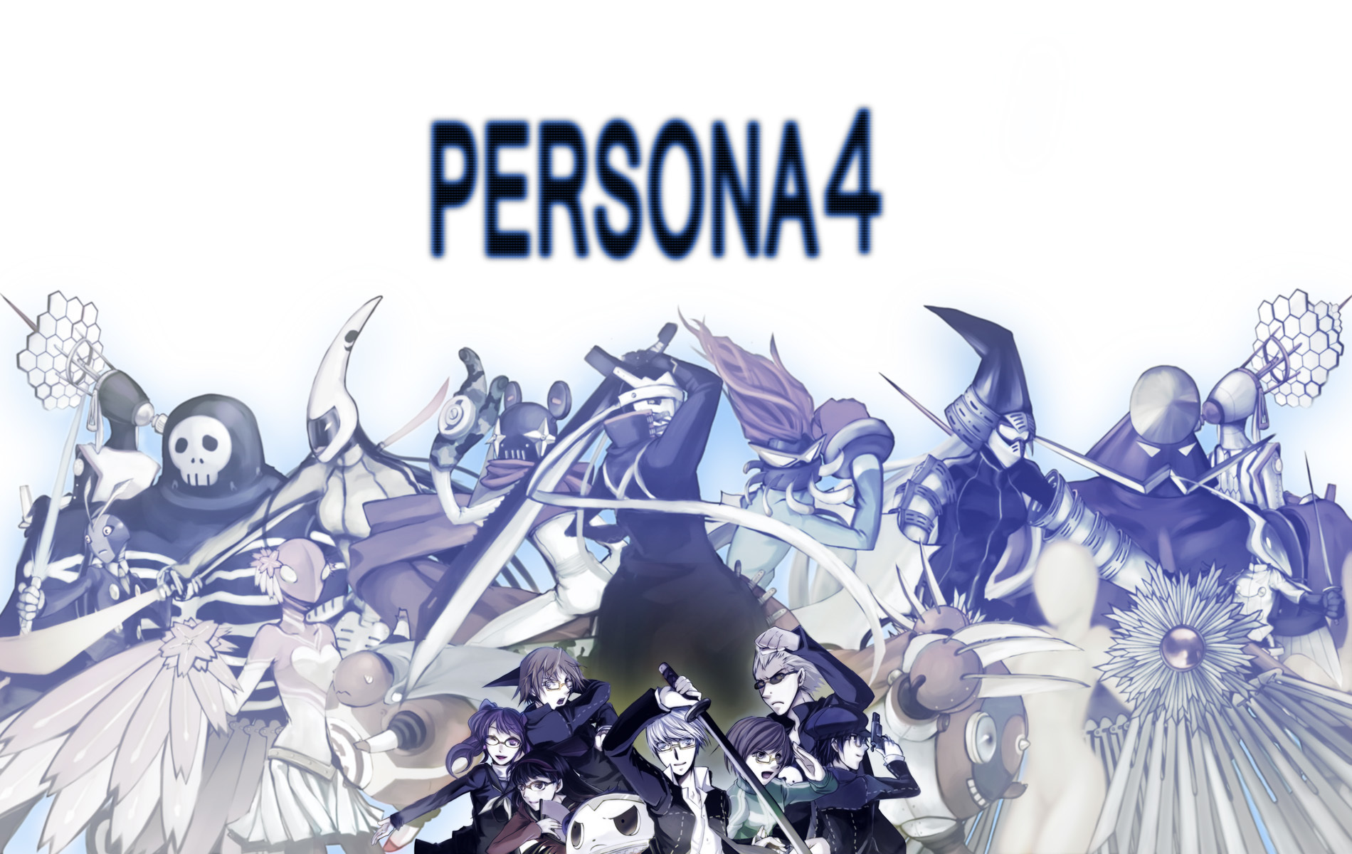 Persona series persona 4 HD Wallpaper