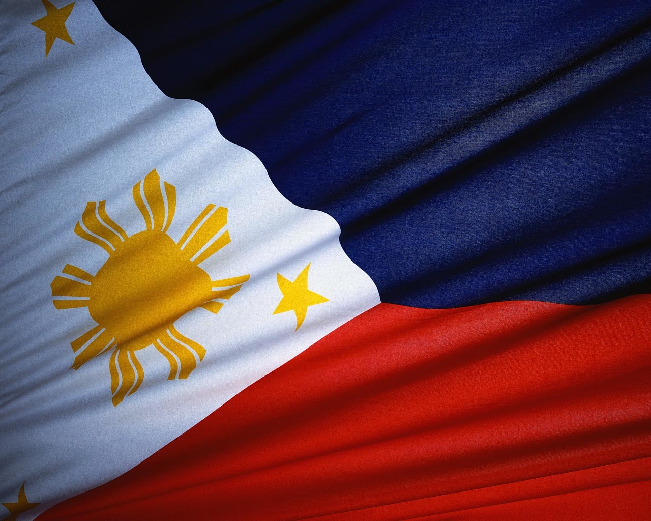 Philippines flag World HD Wallpaper
