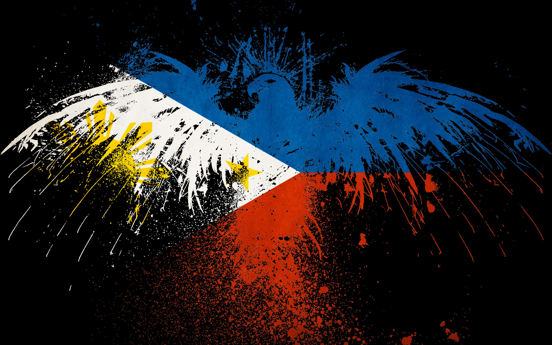 Philippines Flags HD Wallpaper