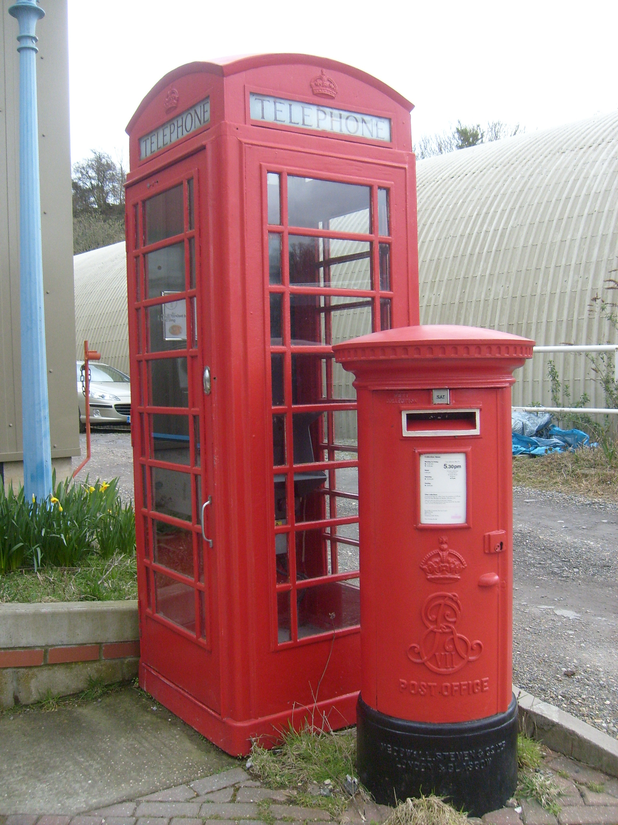 phone booth English Telephone HD Wallpaper