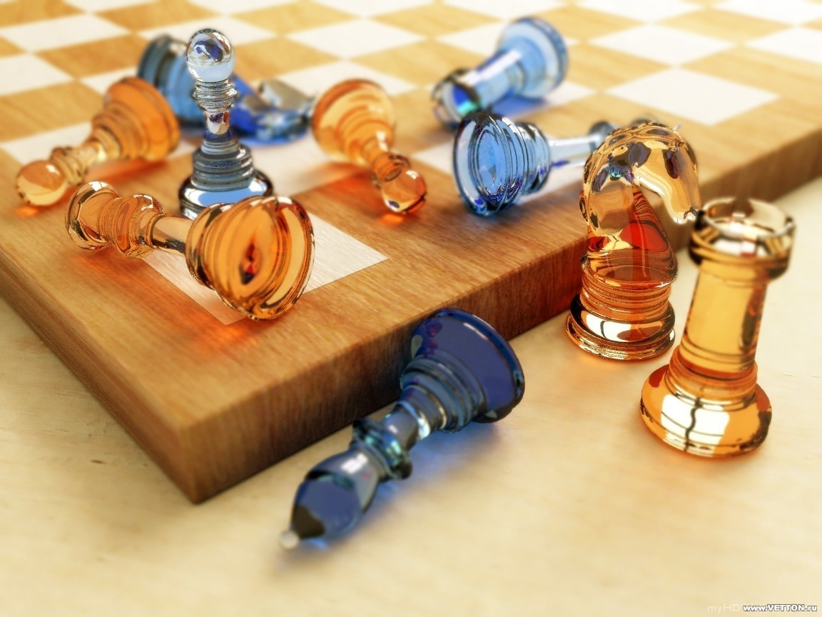 pieces chess HD Wallpaper