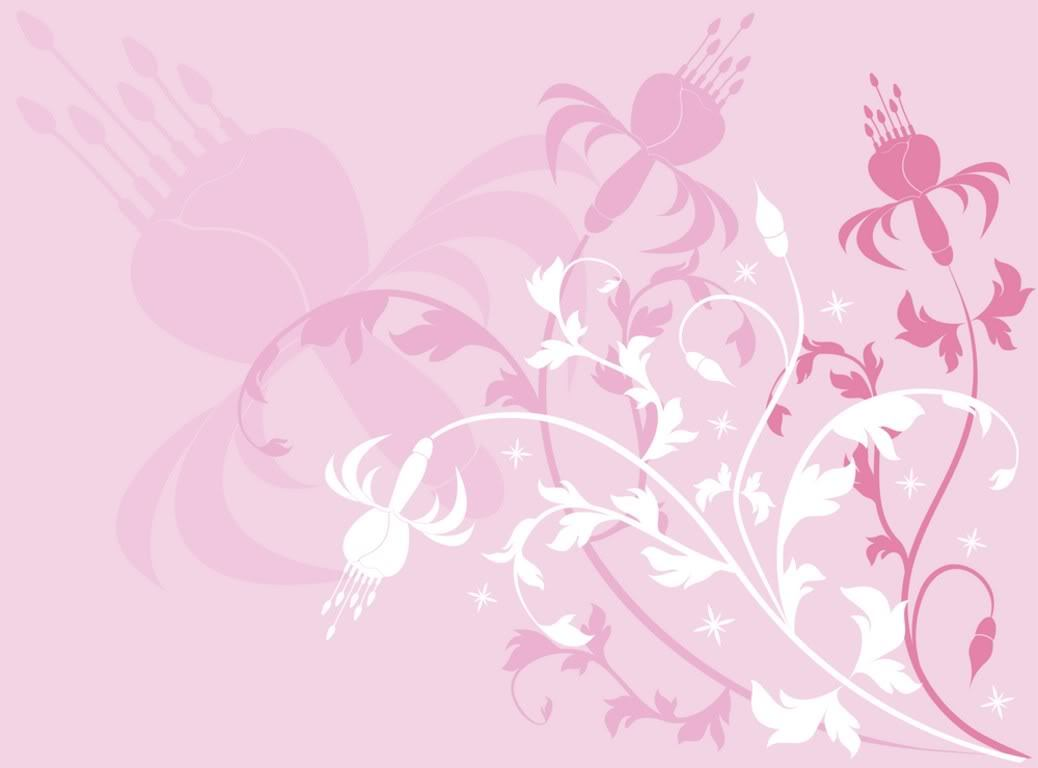 pink floral HD Wallpaper