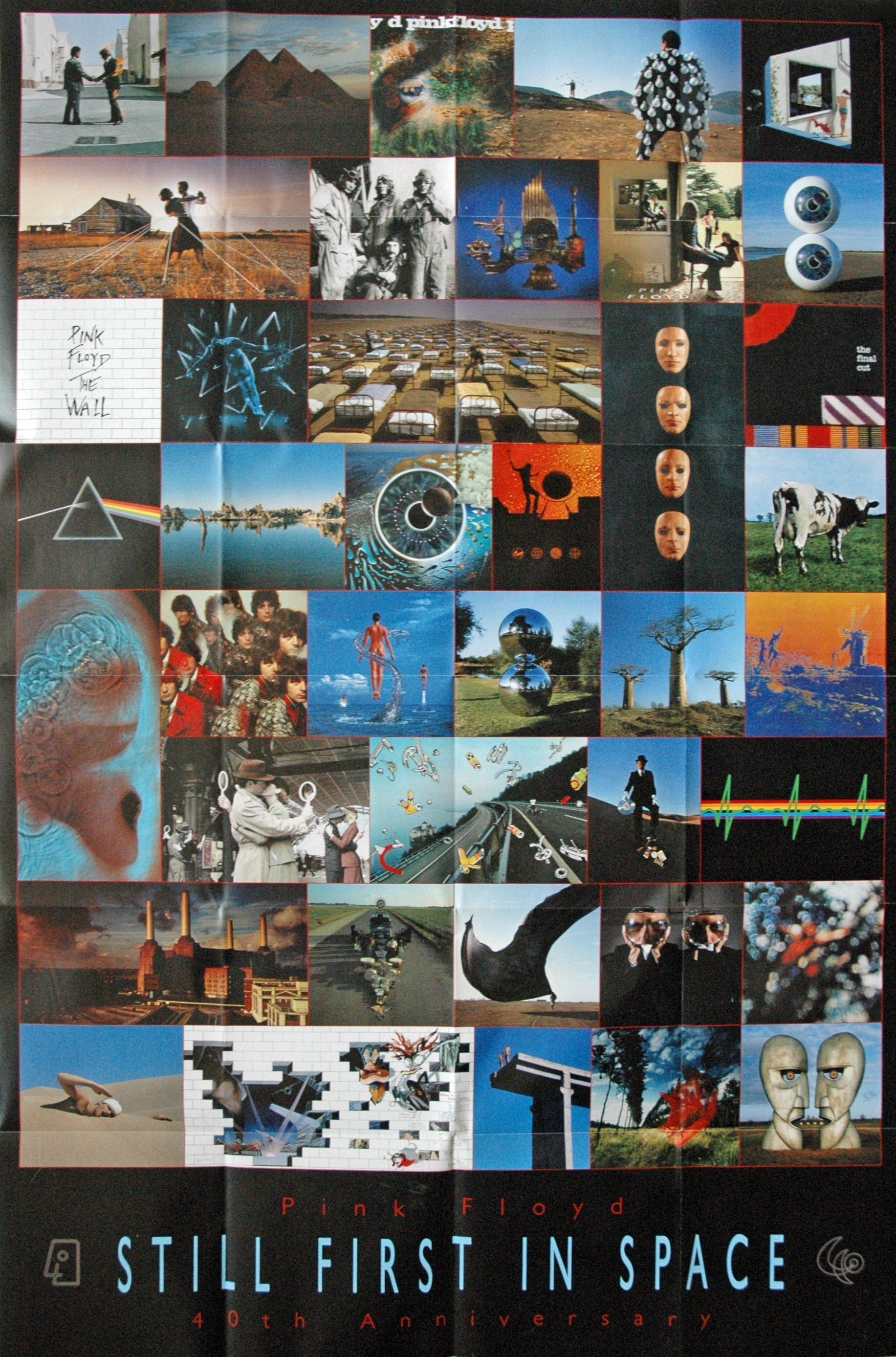 pink floyd collage HD Wallpaper
