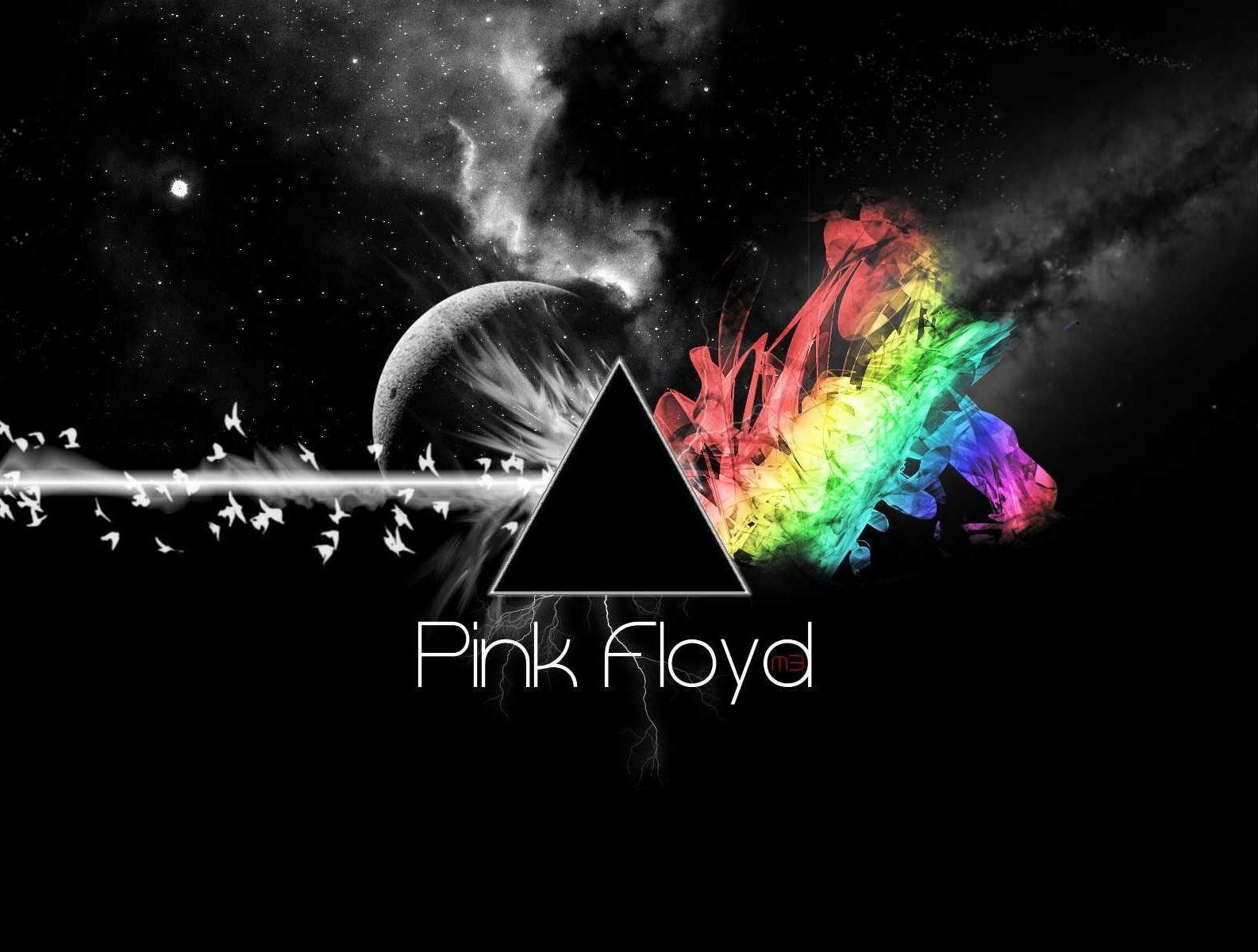 pink floyd pink-floyd dark HD Wallpaper