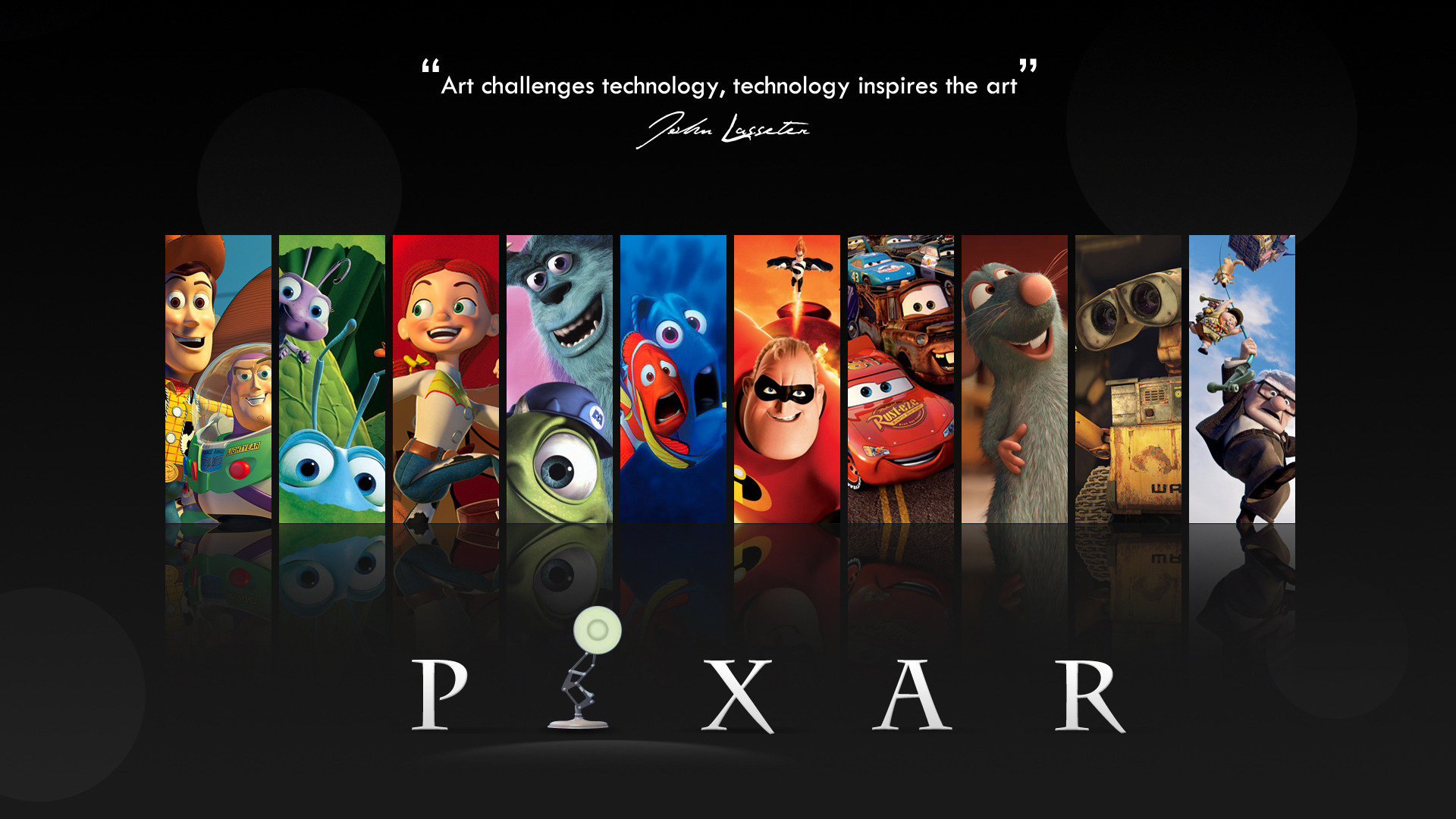 pixar Movies wall-e cars HD Wallpaper