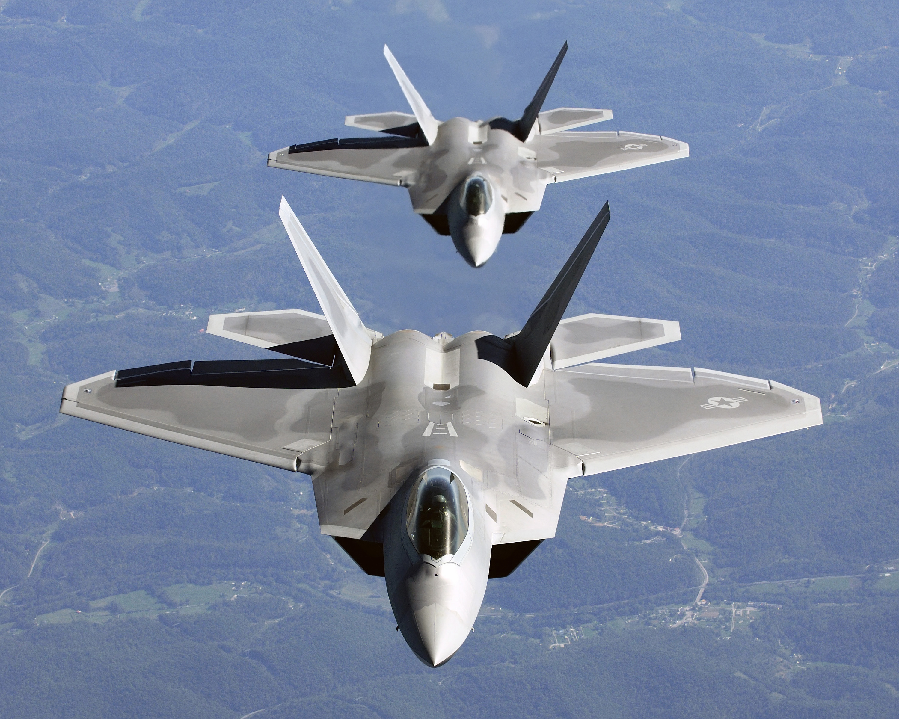 planes aircrafts military F-22 HD Wallpaper