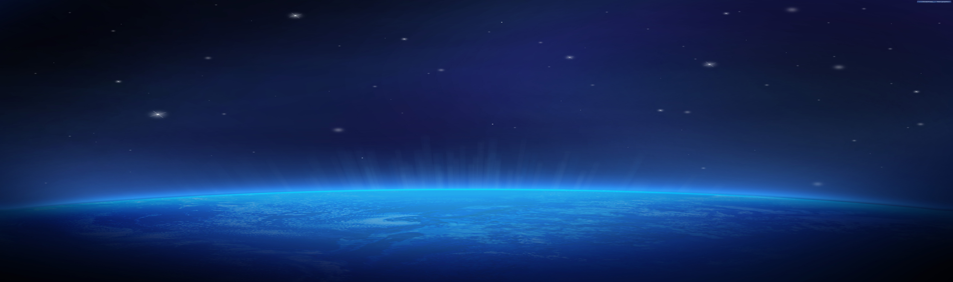 planet Earth in Space HD Wallpaper