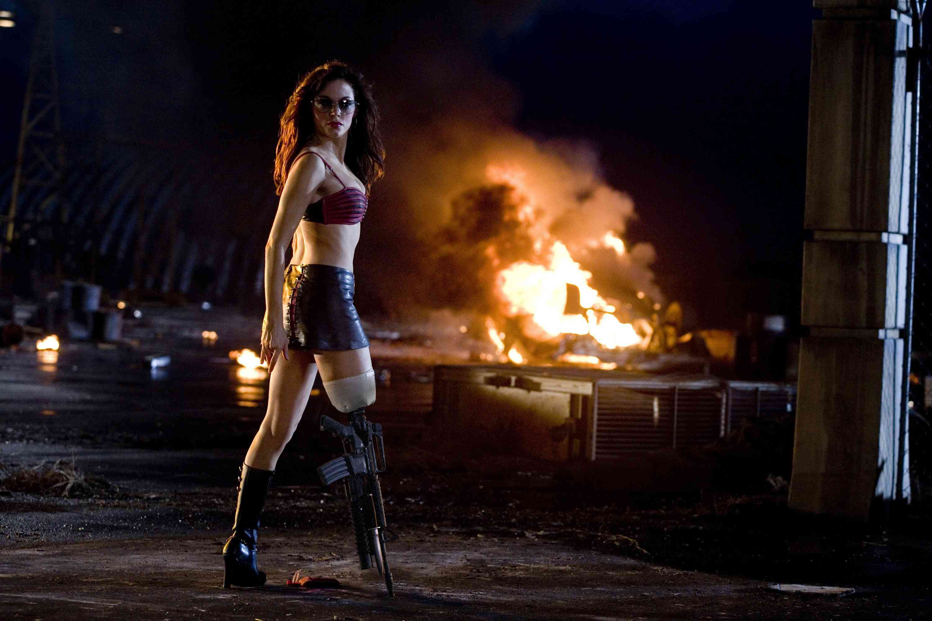 planet terror Grindhouse Space HD Wallpaper