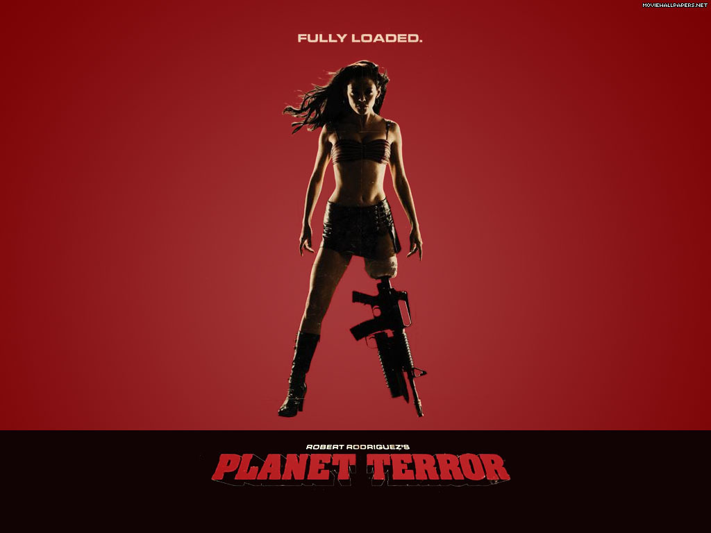 planet terror rose mcgowan HD Wallpaper