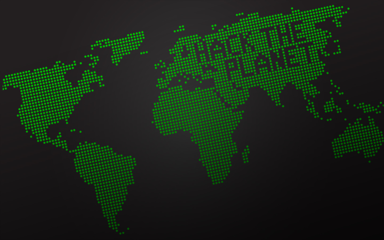 planet planets hacking world map desktop 1440x900 wallpaper 50917
