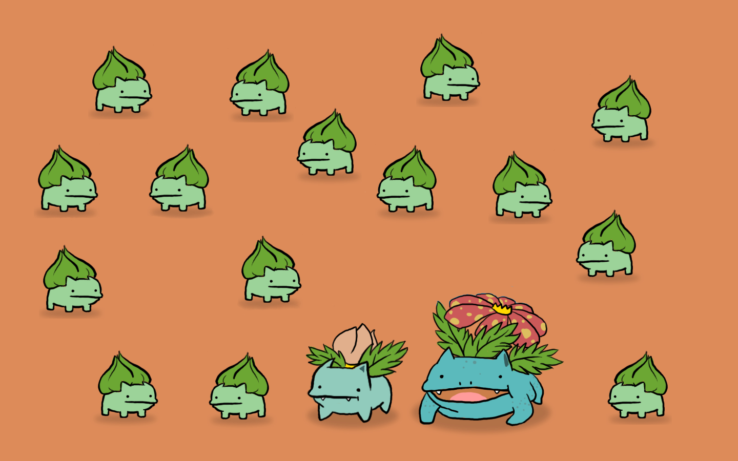 Pokemon bulbasaur Venusaur Ivysaur HD Wallpaper
