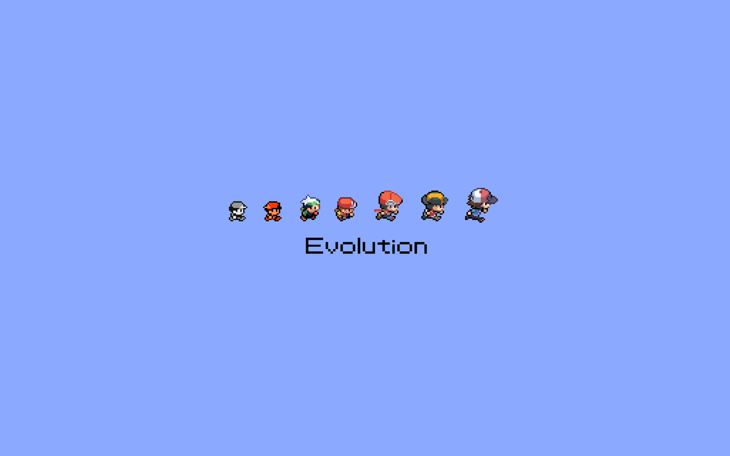Pokemon Evolution Anime HD Wallpaper