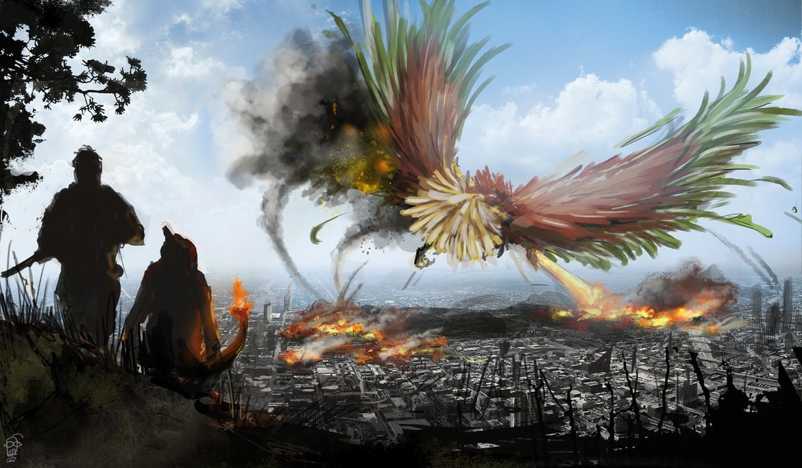 Pokemon Ho-oh HD Wallpaper
