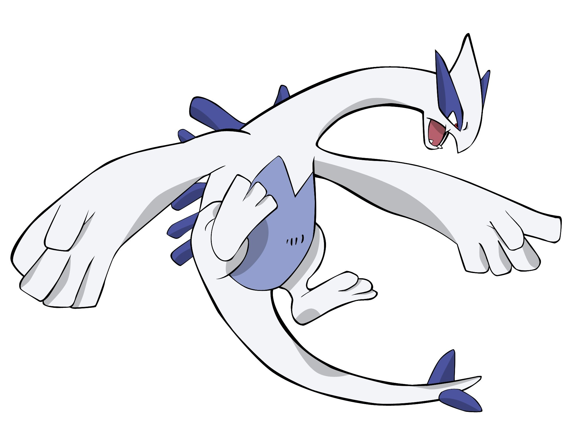 Pokemon lugia Simple Background HD Wallpaper