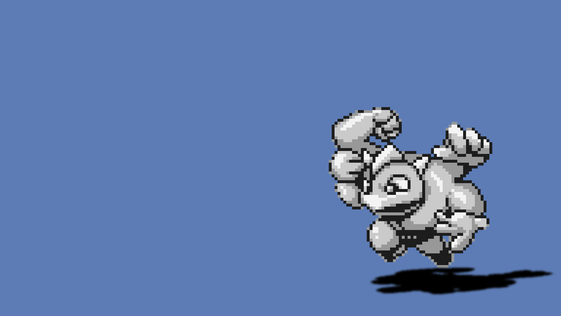 Pokemon sprites Sprite Machamp HD Wallpaper