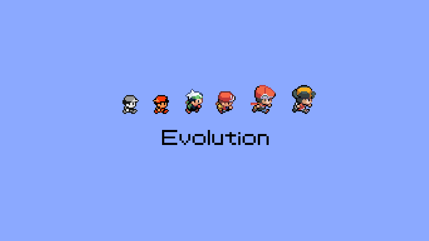 Pokemon video Games Evolution HD Wallpaper