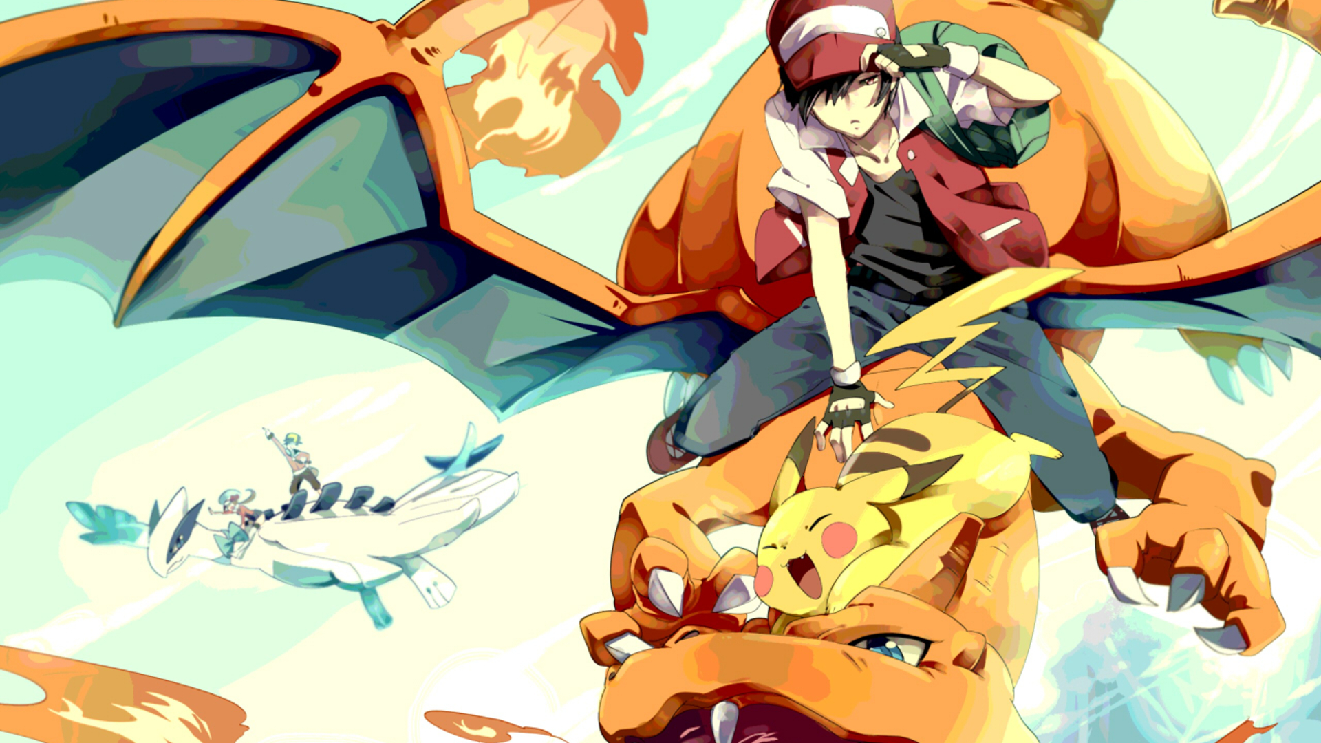 Pokemon video games red HD Wallpaper